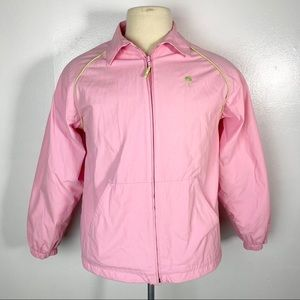 Lilly Pulitzer Lightweight Bomber Rain Jacket